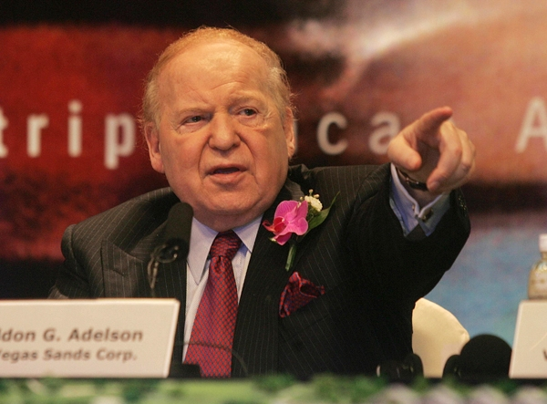 Black Metal God Sheldon Adelson