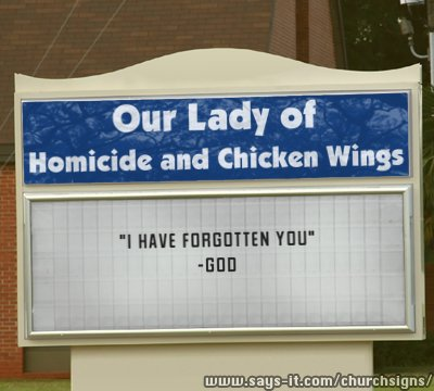 chicken wings and homicide