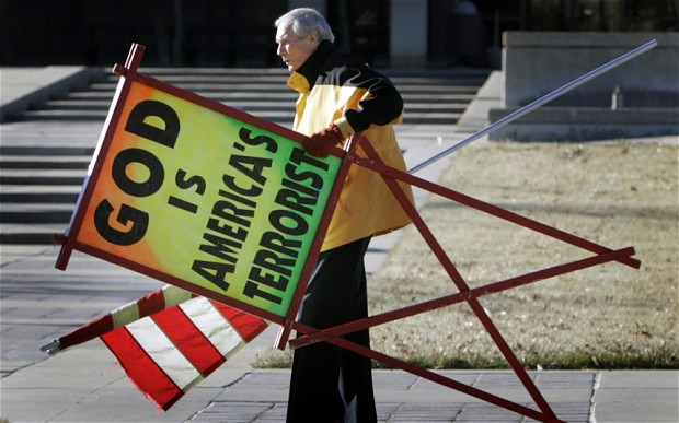 WBC Pastor Fred Phelps Prepares To Welcome Maiden Fans To Iowa