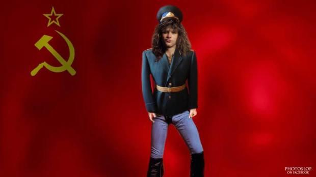 Jon Bon Jovi Communist
