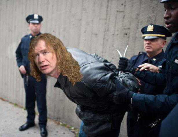 Dave Mustaine Indicted For Crimes Against Metal The