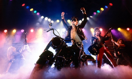 Photo of Rob HALFORD and Glenn TIPTON and Ian HILL and JUDAS PRIEST and KK DOWNING