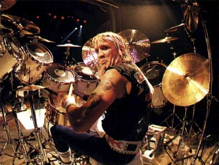 Nicko McBrain Udders