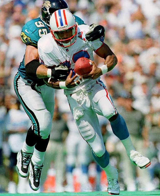 Former Houston Oilers Wide Receiver Yancey Thigpen Almost 20 Years Before The Band Formed