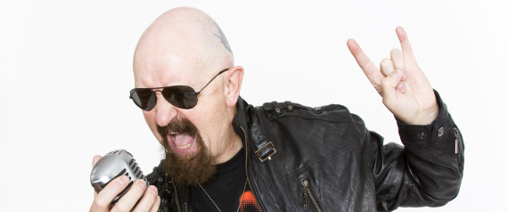 An Alleged Photograph Of Rob Halford From The Interview With The Huffington Post
