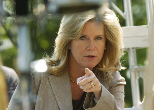 Tipper Gore pointing finger