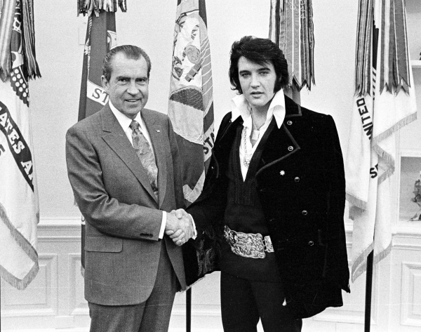 Danzig (Aged 12) Meeting President Richard Nixon in 1971