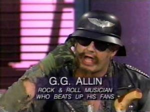 GG Allin:  Still Alive