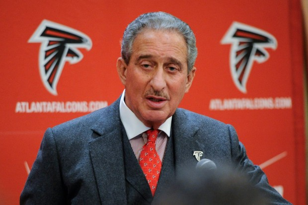"Owner Arthur Blank Fielding A Question About The Album ""Blood Oath"" Earlier Today"