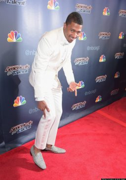 Nick Cannon Proudly Displaying His 2 Million Dollar Shoes