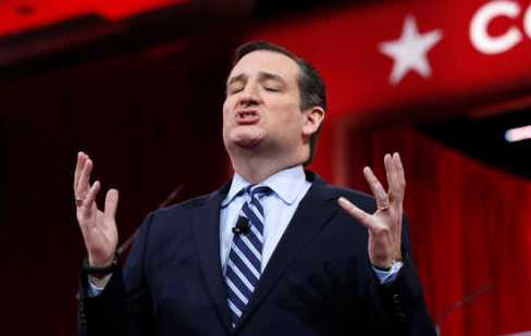 Ted Cruz speaks at the Conservative Political Action Conference (CPAC) in Maryland